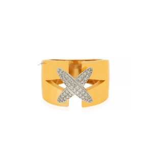 انگشتر طلا کد CR510