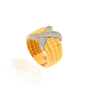 انگشتر طلا کد CR512