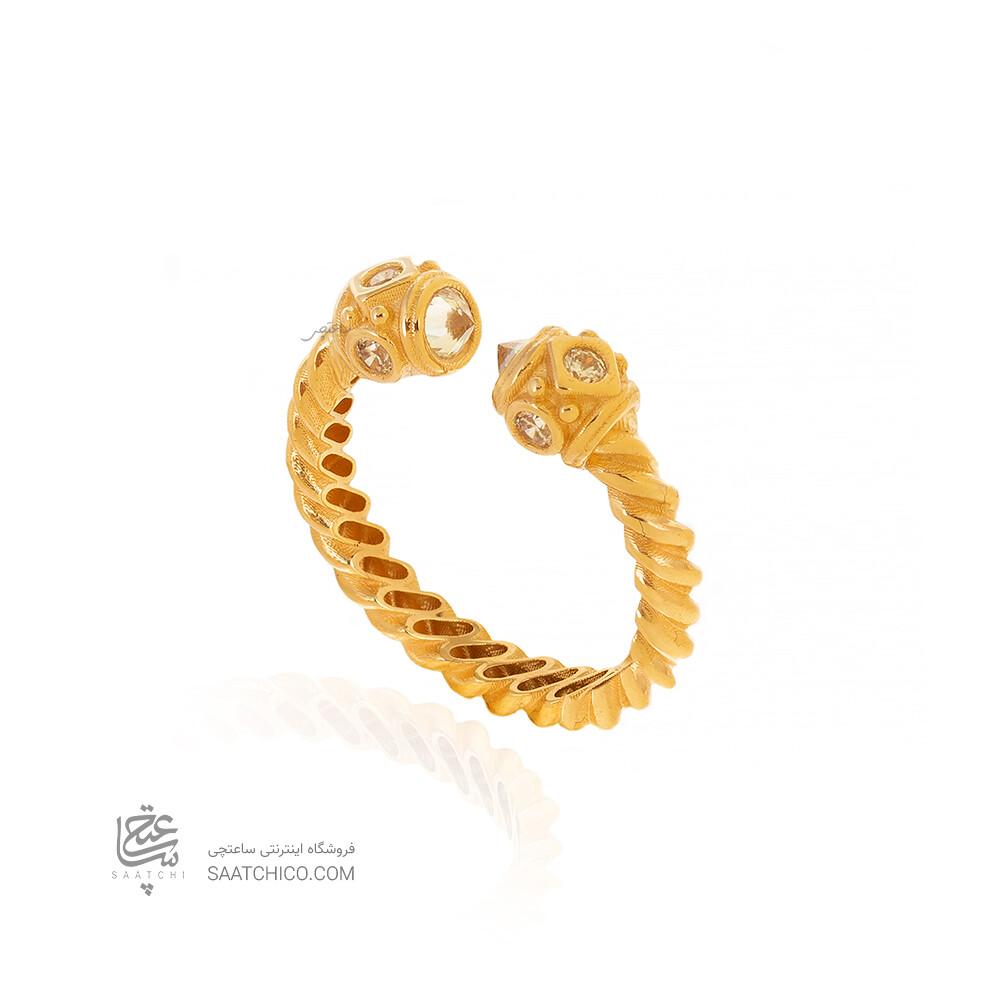 انگشتر طلا طرح دیوید یورمن کد CR517