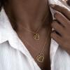 گردنبند طلا طرح قلب دیوید یورمن کد CN647