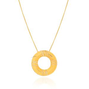 گردنبند طلا طرح اطلس تیفانی کد CN470