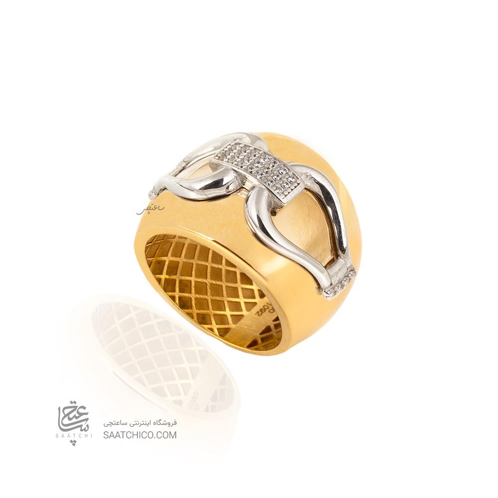 انگشتر طلا طرح فرد CR537