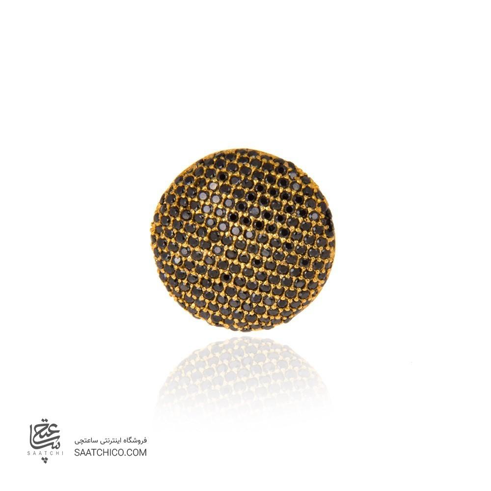 انگشتر طلا زنانه با نگین cz  کد cr314