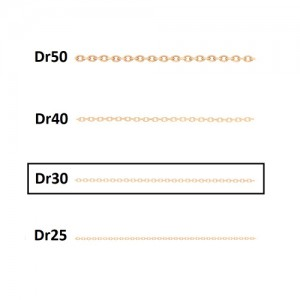 زنجیر نازک کد CD30
